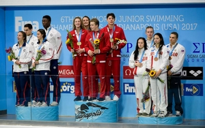 4x100m mixed medley reward Kuimov Egor of Tatarstan 3rd