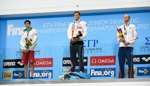 100m free style men reward Russian victory